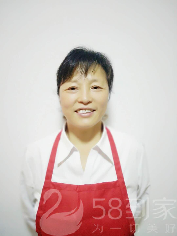 保洁师王素珍