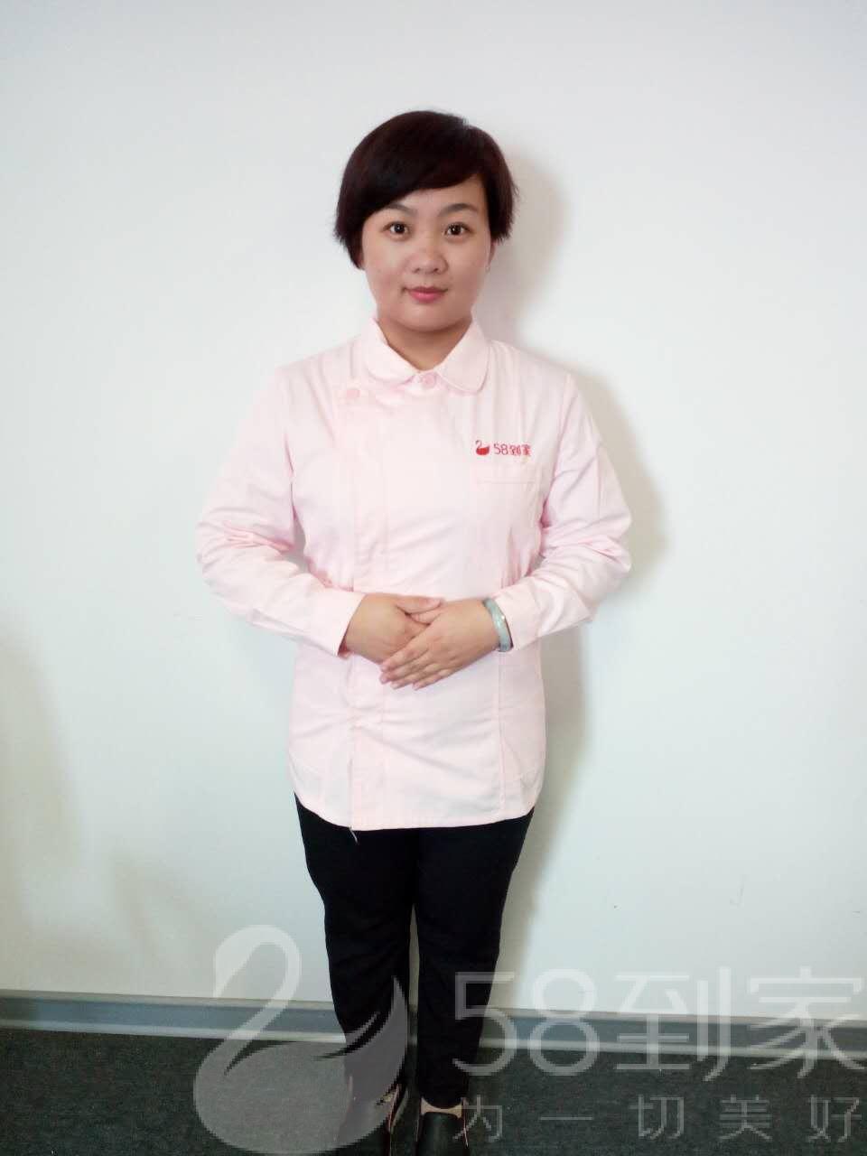 保洁师王东梅