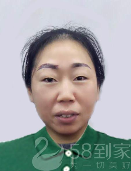 保洁师张碧蓉
