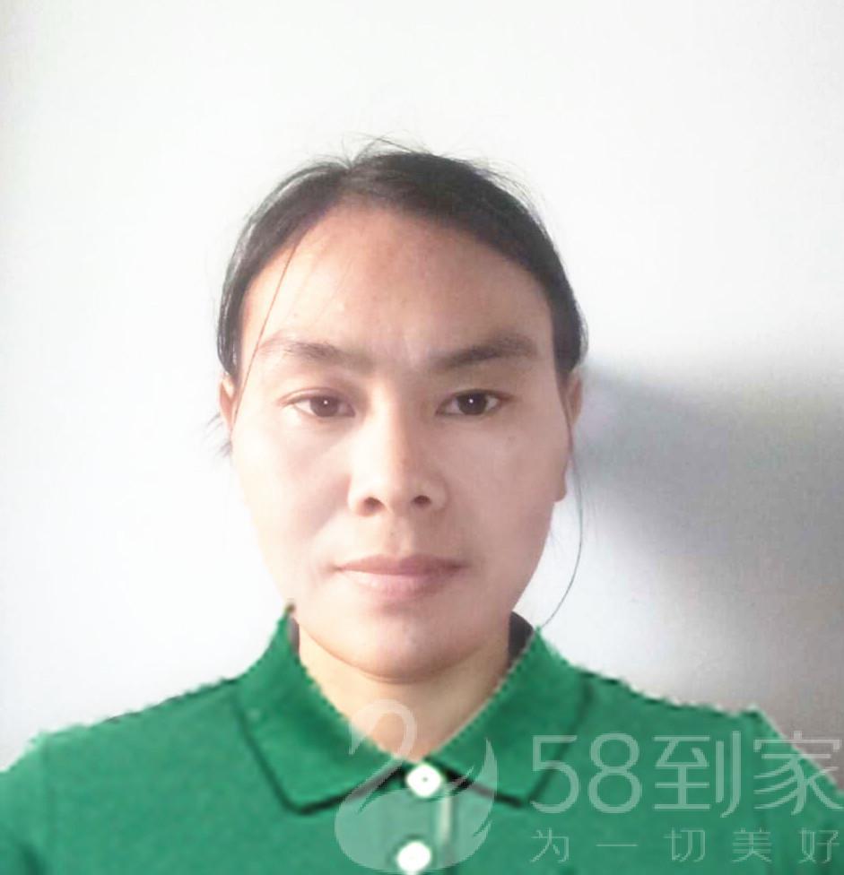 保洁师张春蓉