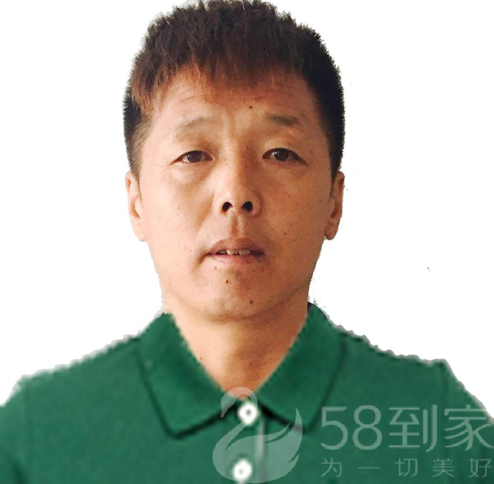 保洁师张忠三