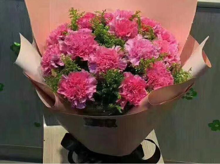 11朵花包装花束步骤图