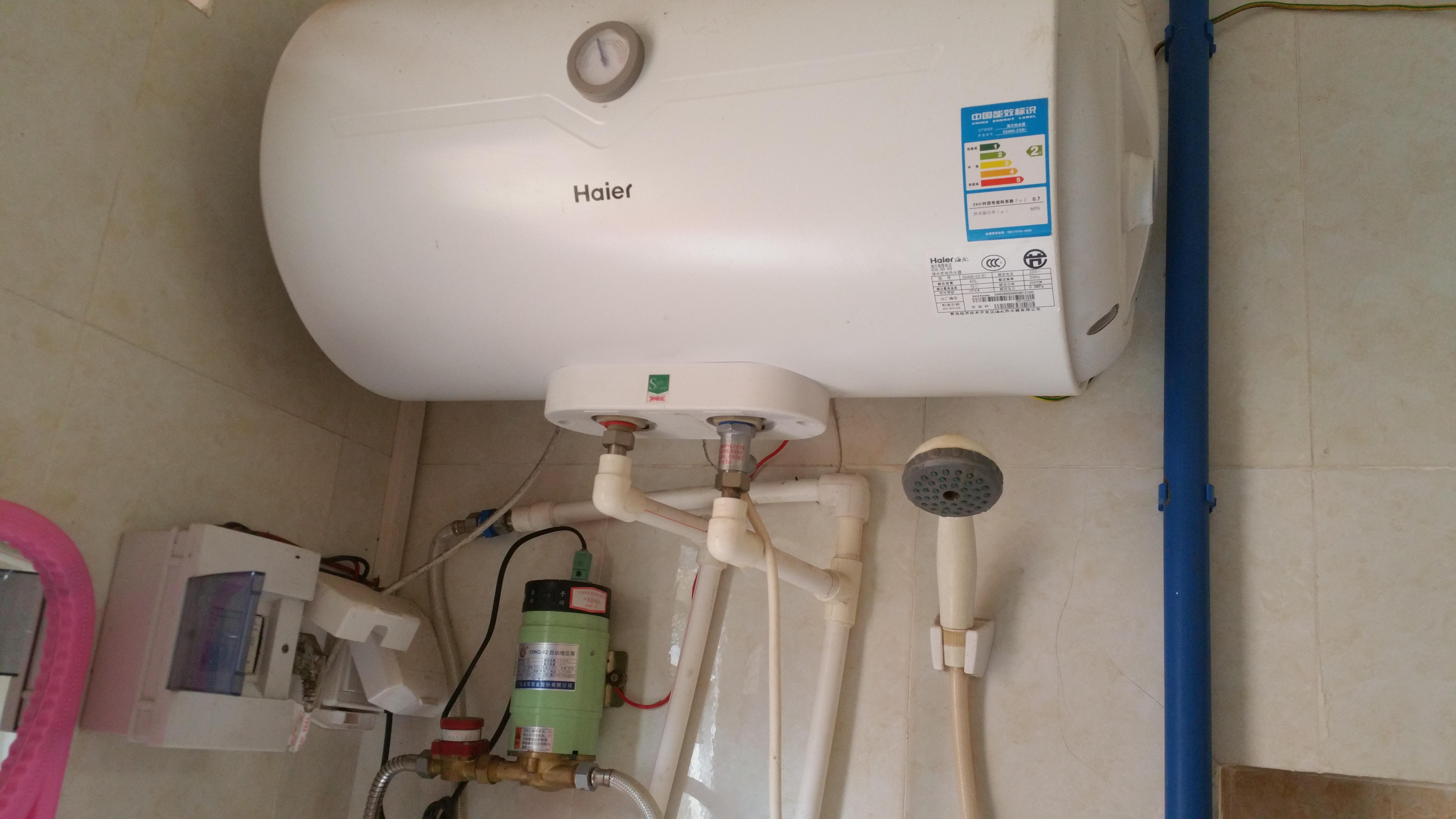 文昌上门安装 电热水器安装  上门安装电热水器(水管和电线已经具备图片