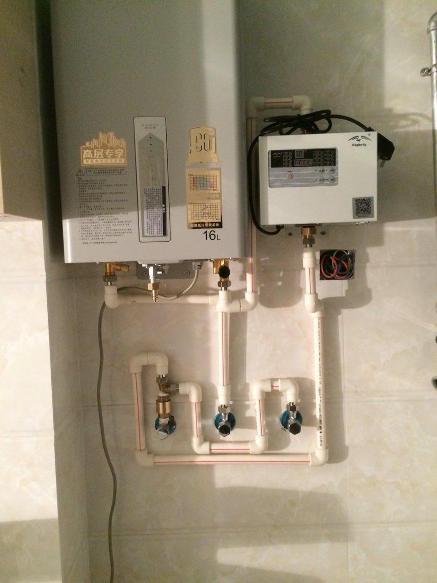 回水器热水器安装图片