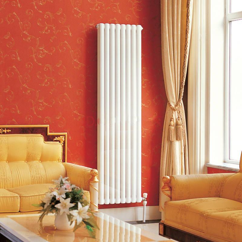 一侧有暖气窗帘效果图
