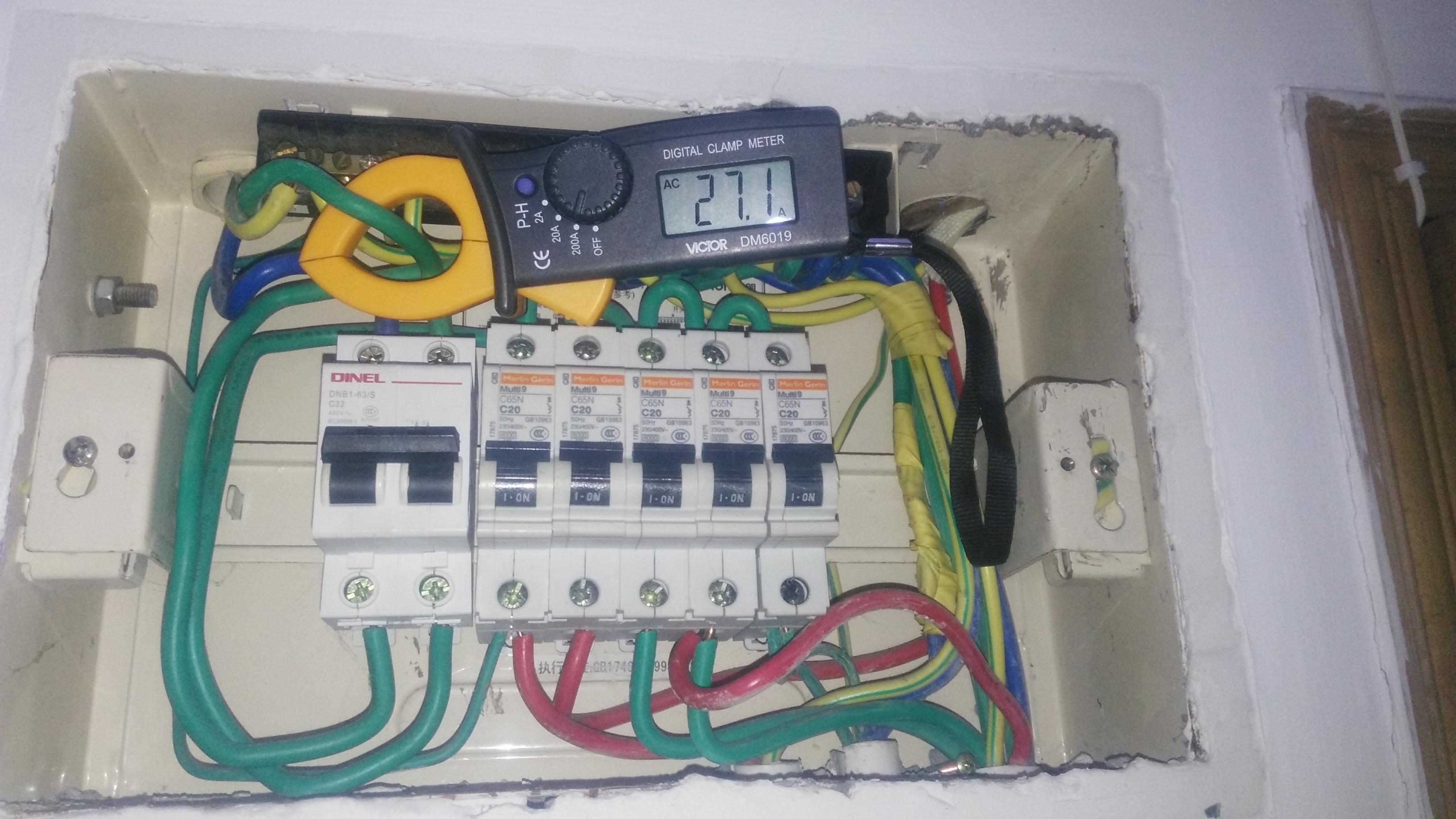 开关电路跳闸维修