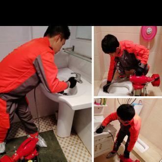 厨房地漏疏通机器厕所通下水道,地漏疏通专业打捞及各种管道维修