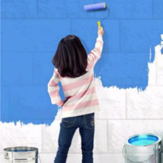 墙面粉刷刮白