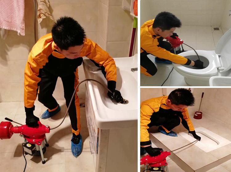 地漏疏通 厨房 卫生间 阳台 家庭维修疏通专业快速上门