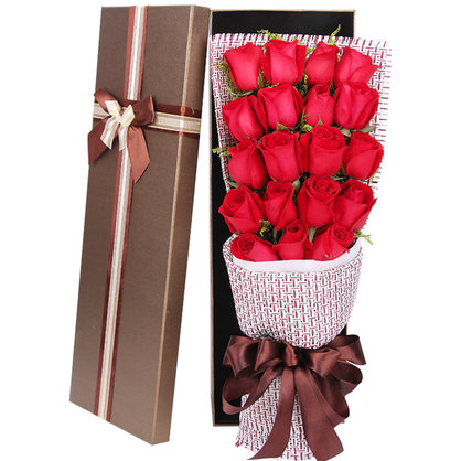 心心相印 19朵红玫瑰礼盒