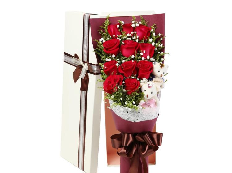 那时花开-11枝红玫瑰