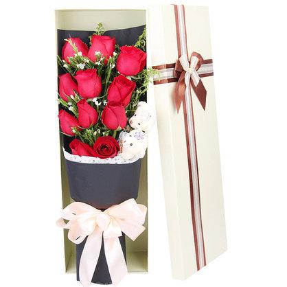11枝红玫瑰礼盒