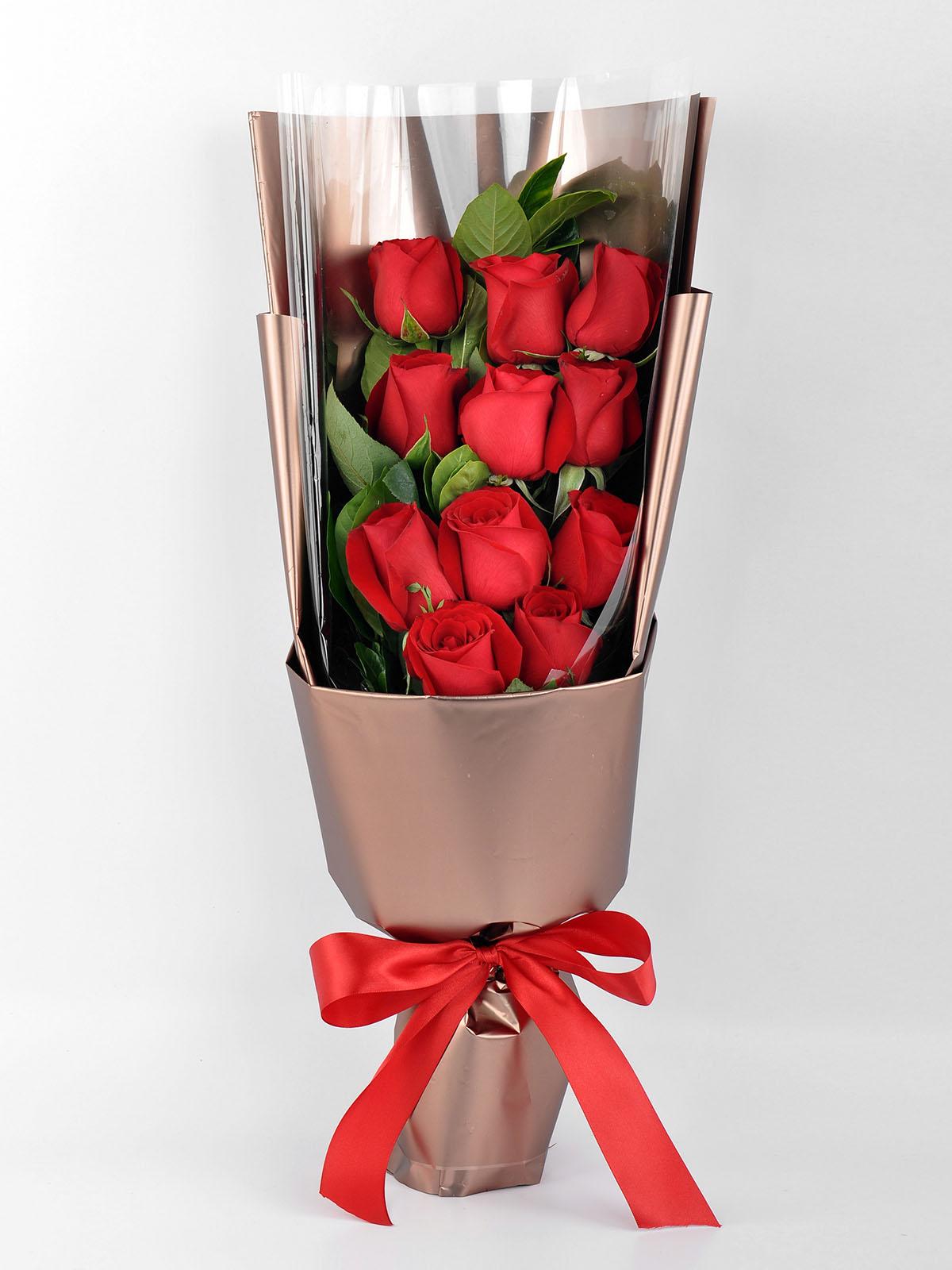 唯一的爱  11朵红玫瑰礼盒