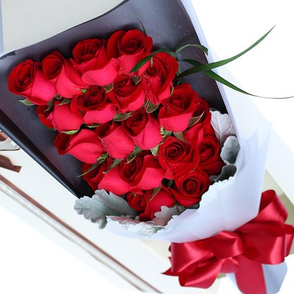 唯爱你 19朵红玫瑰礼盒