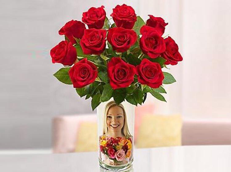单枝红玫瑰