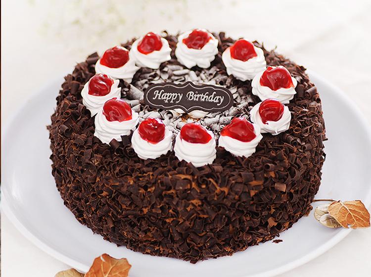 黑森林巧克力蛋糕-8寸装