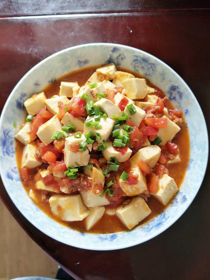 老少皆宜家常菜——西红柿炖豆腐